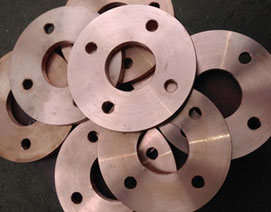 Copper flanges